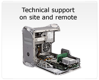 Technical support on site and remote